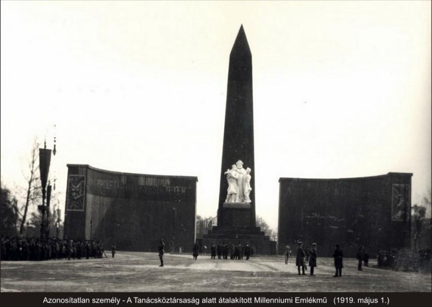 1919, a (későbbi, 1932-től) Hősök tere, 14. kerület