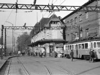 1960-as évek Kerepesi út, HÉV-végállomás, 8. kerület