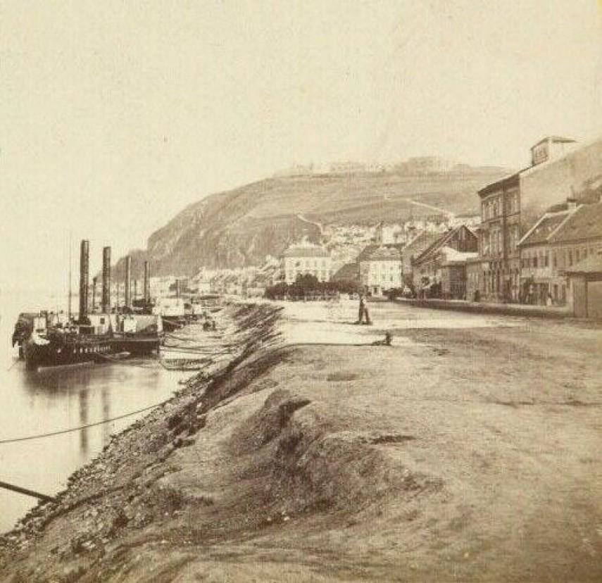 1860-as évek, Víziváros, a mai Ybl Miklós tér, 1.kerület