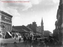 1870 táján, Grosse Feld Gasse (Nagymező utca), 6. kerület