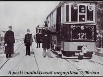 1900, Duna korzó, a pesti viaduktvasút megnyitása, 4. (1950-től) 5. kerület
