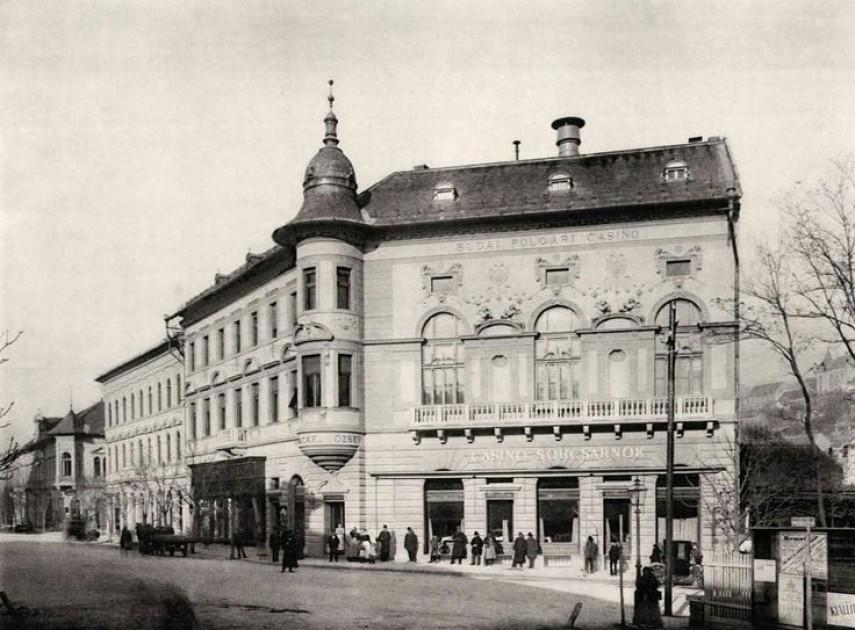 1893, Krisztina tér az Alagút utcánál, 1. kerület