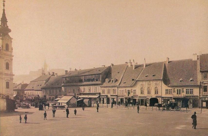 1886, Batthyány tér, 1. kerület