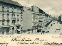 1899, Ferencz (Ferenc) körút