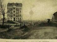 1900 táján Kruspér utca, 11. kerület