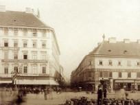 1900 táján, Károly király út (Károly körút), 7. és 6. kerület