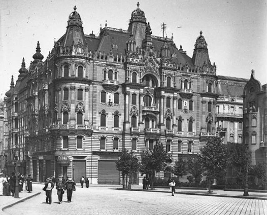 1907, Eskü (Március 15.) tér, 5. kerület