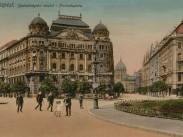 1910, Szabadság tér, az Adria hajóstársaság palotája