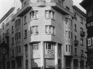 1910-táján, Dohány utca, az Árkád bazár