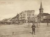 1910-es évek, Újpest, Szent István tér