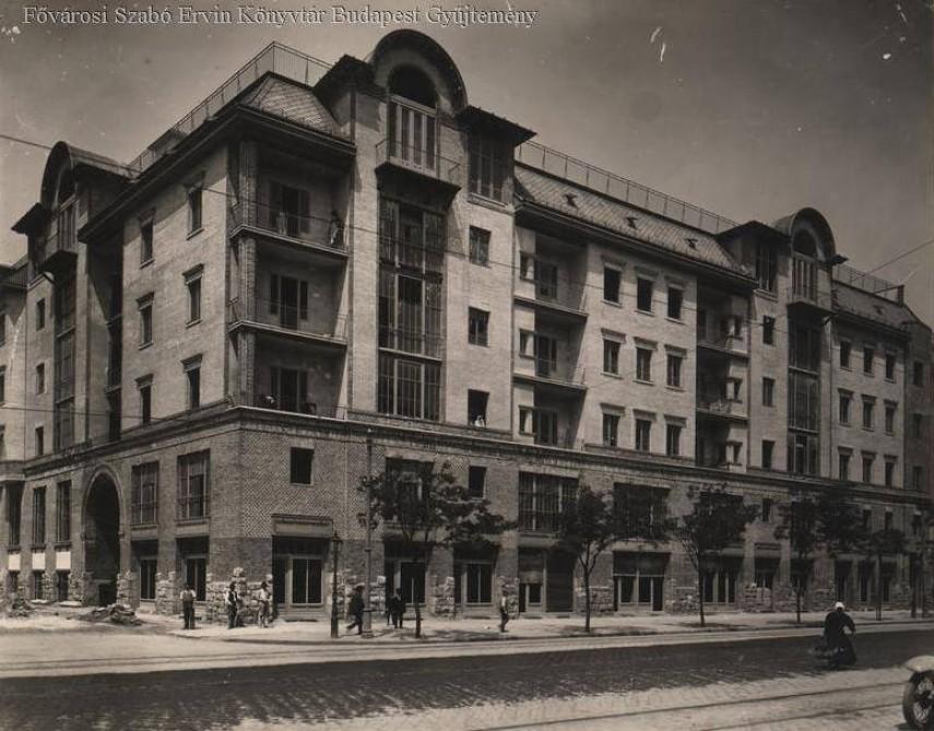 1911 táján, Lehel utca, 13. kerület