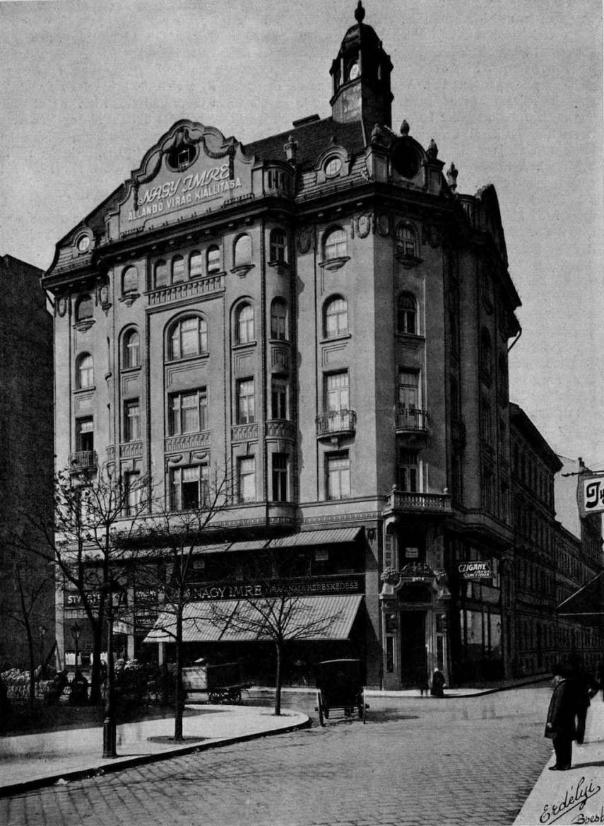 1912, Fővám tér a Váci utcánál, 5. kerület