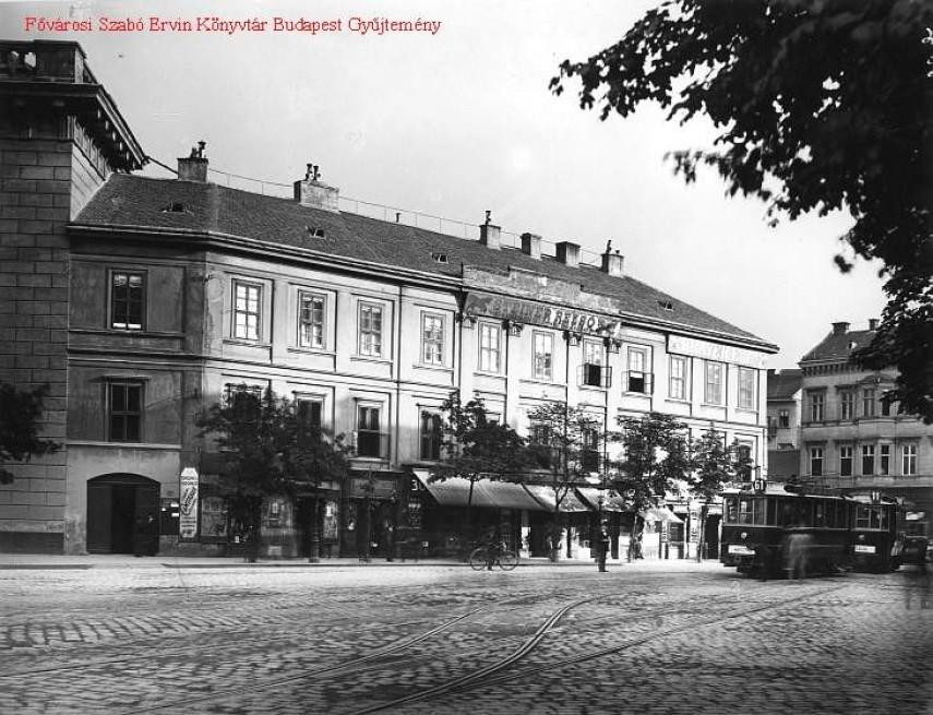 1912 táján, Cavlin (Kálvin) tér, 9. kerület