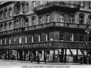 1928, Szervita tér-Kristóf tér sarok, 4. (1950-től 5. kerület)