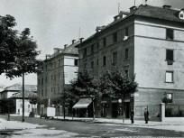 1930, Lenke (Bocskai) út a Vincellér utcánál, 11. kerület
