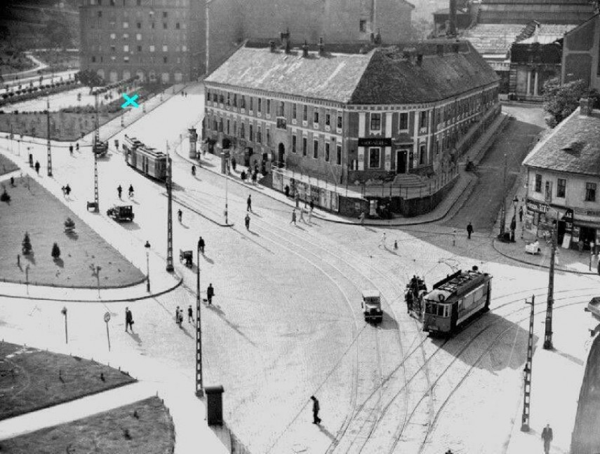 1930-as évek, Szebeny Antal (Szarvas) tér, 1. kerület
