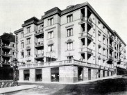 1930 táján, Keleti Károly utca a Kitaibel Pál utcánál, 2. kerület