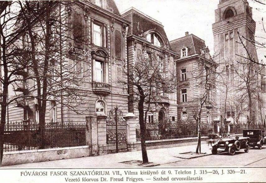 1930-as évek Vilma királynő út (Városligeti fasor), 7. kerület