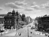 1935, Teréz körút, Nyugati pályaudvar, 1935, 6. kerület
