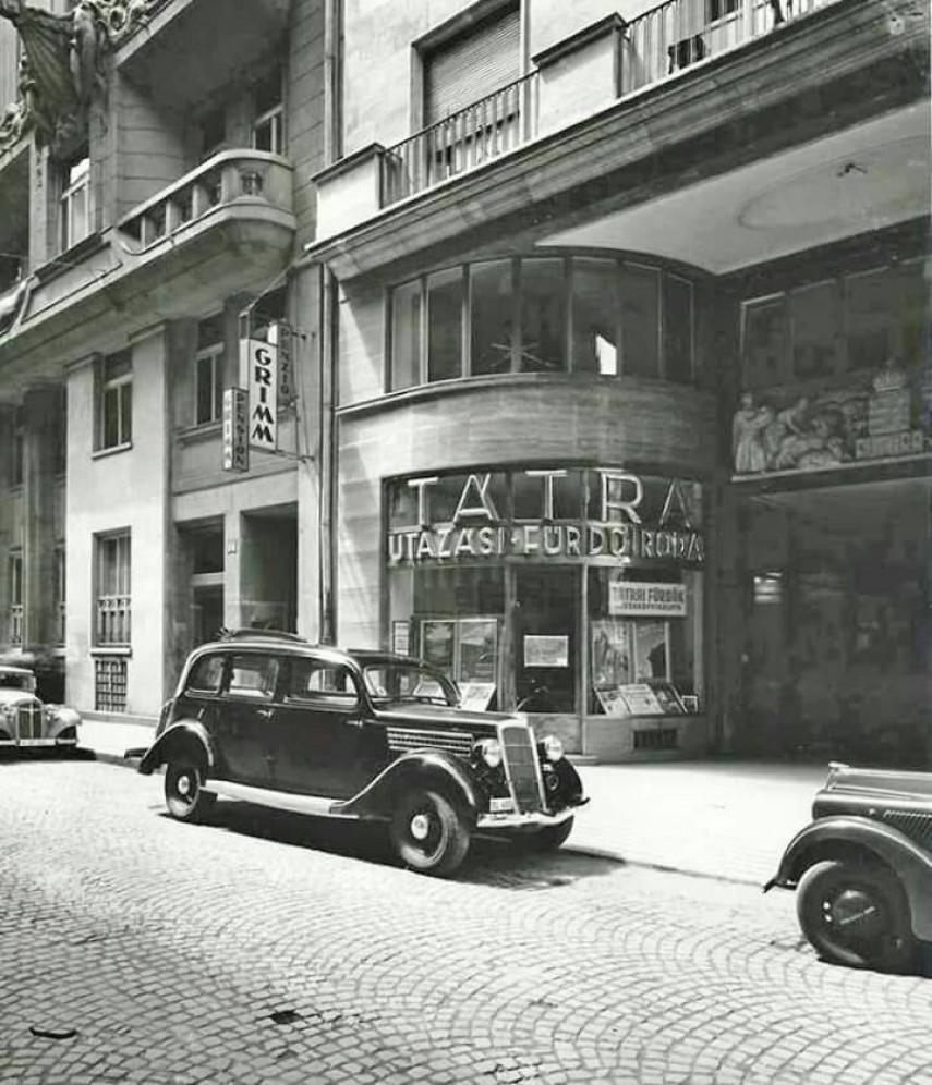 1940 táján Vigadó utca, 4. (1950-től 5.) kerület
