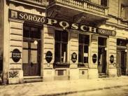 1941, Andrássy út 80, a Posch SÖRÖZŐ-BOROZÓ