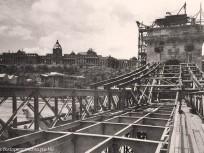 1948, a Széchenyi Lánchíd újjáépítése 1. kerület