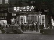 1958, Lenin körút, Szikra mozi, 6. kerület