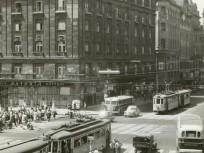 1960 táján, Kossuth Lajos utca, Rákóczi út, 7. és 5. kerület