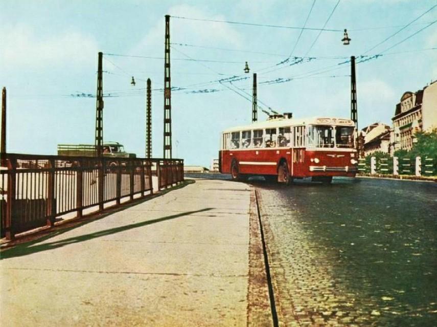 1970-es évek Élmunkás (Ferdinánd) híd, 6. kerület