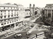 1970-es évek, Dohány utca a Tanács (Károly) körút felől, 7. kerület