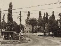 1970 táján, Ostoros utca a Szabadföld út felől, 16.kerület