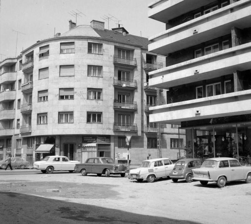 1971, Csalogány utca a Fő utcánál, 2. kerület
