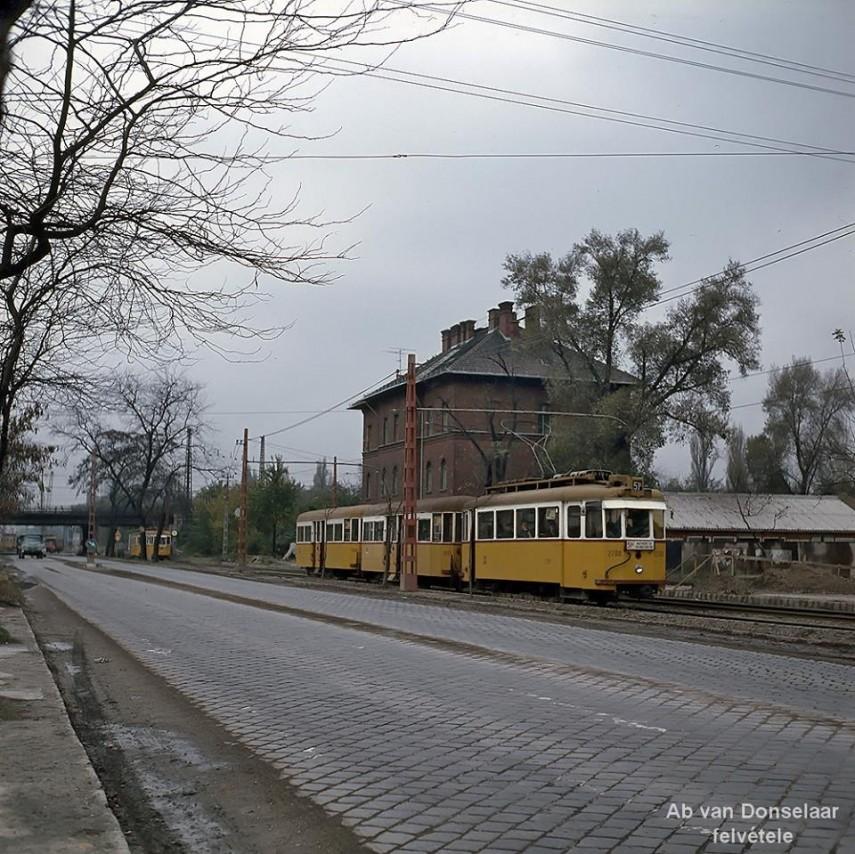 1976, Üllői út a Balkán utcánál, 10.kerület