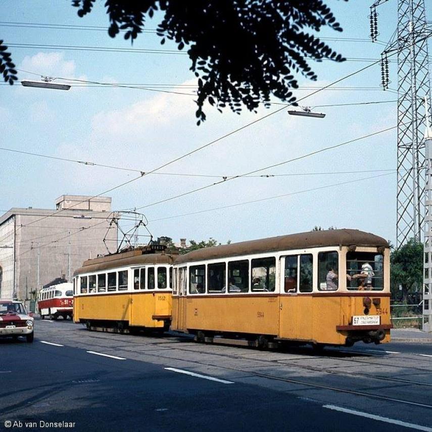 1977, Erzsébet királyné útja a Rákospatak utcánál, 14. kerület