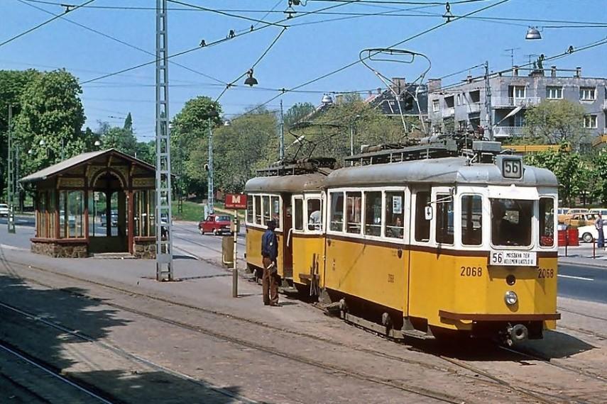 1979, Szilágyi Erzsébet fasor a Házmán utcánál