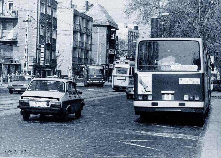 1990 táján, Thököly út, 14. kerület