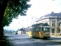 1970 táján, Bécsi út a Föld utcánál, 3. kerület