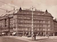 1930-as évek, Rákóczi út, a Központi szálloda, 7. kerület