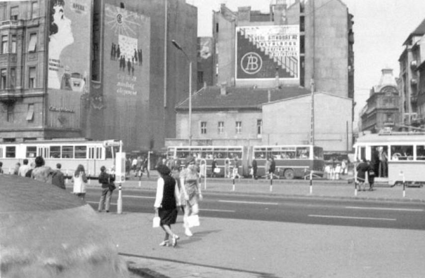 1970-es évek eleje, Blaha Lujza tér, 8. és 7. kerület
