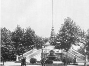 1884-1895, a Gloriette emlékmű, Hősök tere, 14. kerület