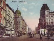 1900-as  évek eleje, Kerepesi út (Rákóczi út), 7. és 8. kerület