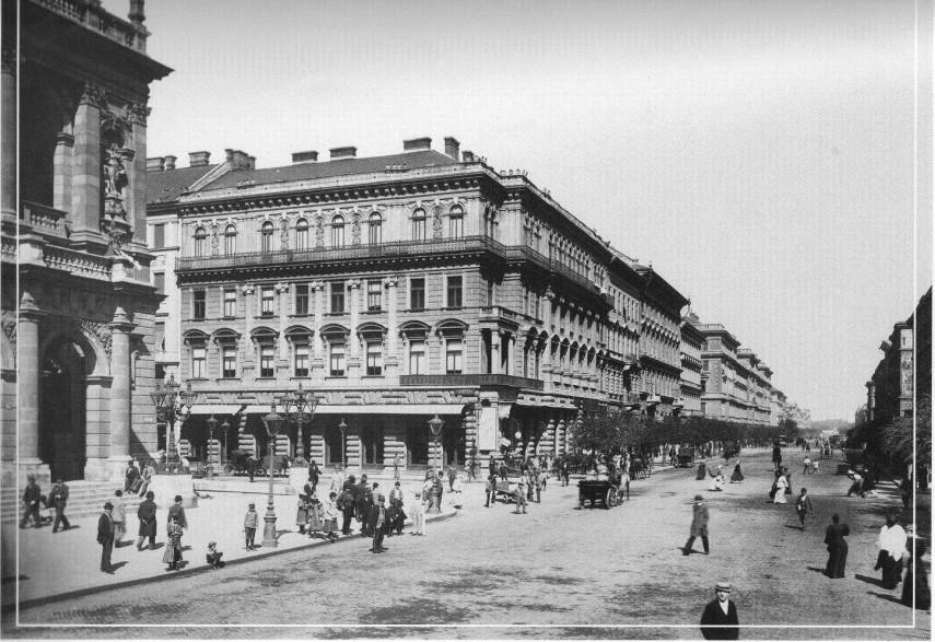 1890-es évek, Andrássy út, 6. kerület