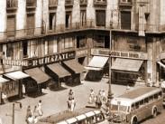 1954-1958,  Rákóczi út, 7. kerület