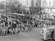 1955, Tanács (Károly) körút, 7. és 5. kerület