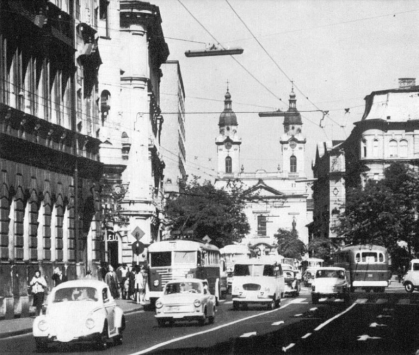 1960-as évek, Baross utca, 8. kerület