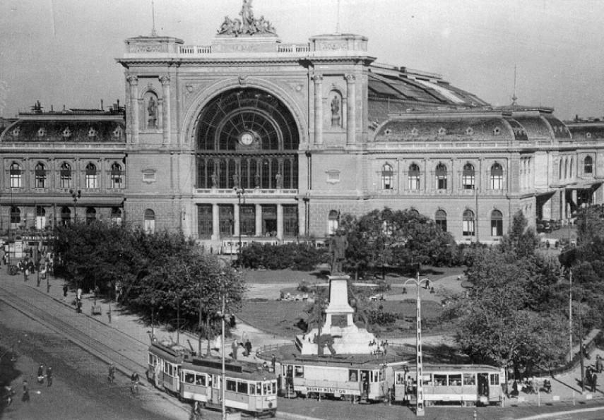 1964, Baross tér, 8 kerület