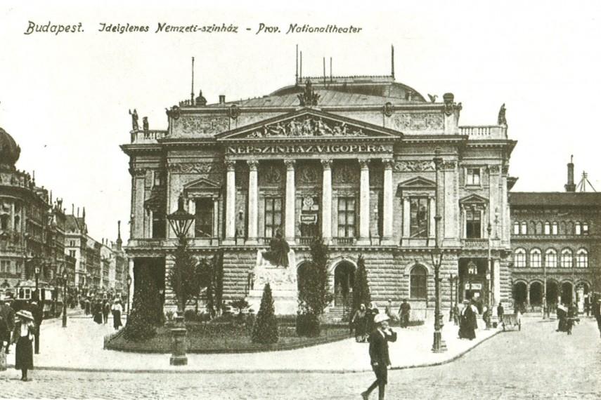 1908-táján, Rákóczi út, 8. kerület
