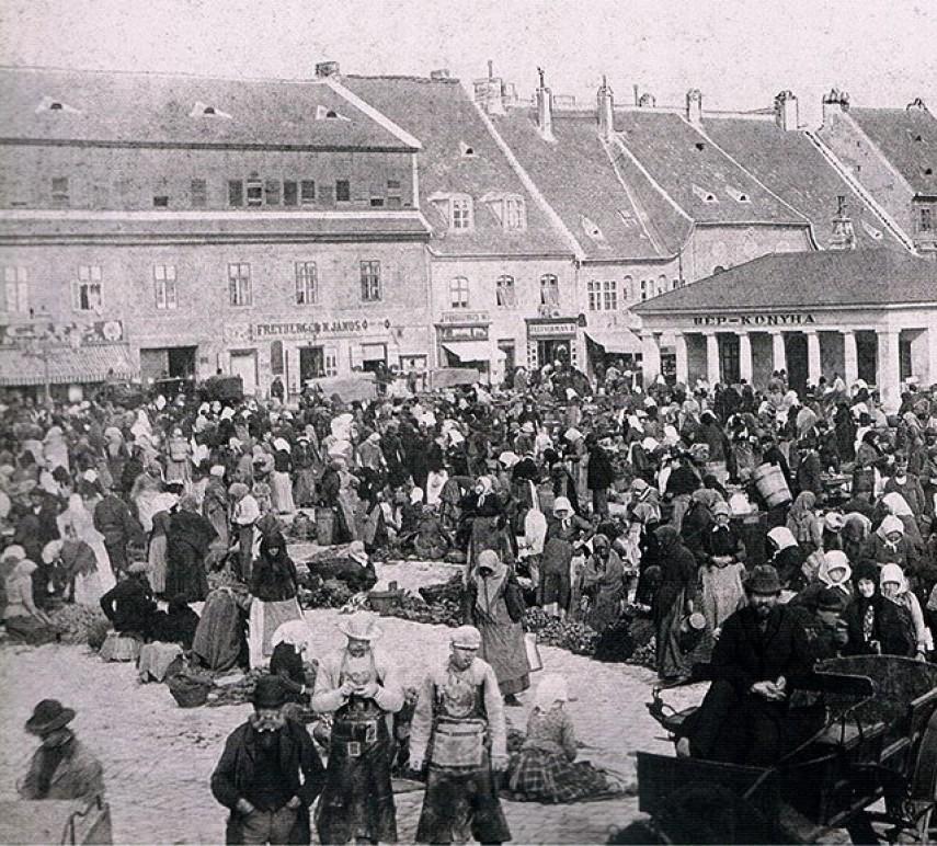 1874, Bomba tér (Batthyány tér), 1. kerület