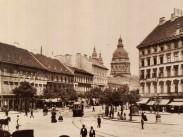 1900-as évek eleje, Deák Ferenc tér, 5. és 6. kerület