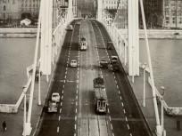 Erzsébet híd(-ak) és környékeik, Erzsébet híd 1965, 1. kerület